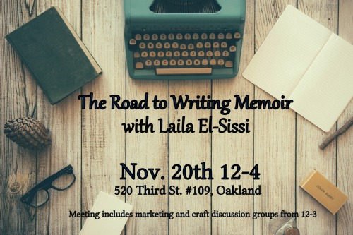road to writing memoir cwc laila el-sissi.jpg