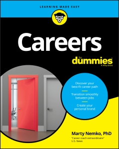 book cover for Careers for Dummies by Marty Nemko