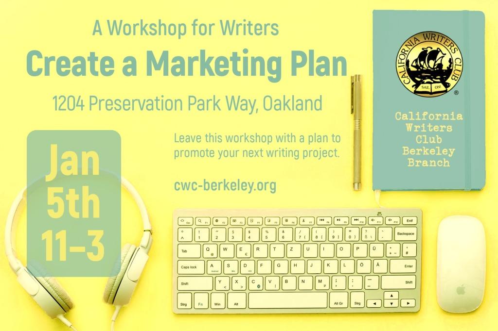 Create a Marketing Plan Workshop promo image