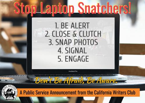 Psa-laptop-theft-coffeeshop-alert-writers-PixTeller